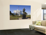 USA, Alabama, Montgomery, Alabama State Capitol, Police Monument Wall Mural by Walter Bibikow
