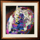 The Virgin (Die Jungfrau) Framed Giclee Print by Gustav Klimt