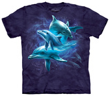 Dolphin Collage T-shirts