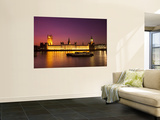 Houses of Parliament, Westminster, London, England Wall Mural by Jon Arnold