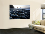 Reynisdrangar Rock Formations and Black Beach, Vik, Iceland Wall Mural by Peter Adams