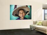 Vietnam, Hoi An, Portrait of Elderly Woman Wall Mural by Steve Vidler