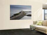Storseisundbrua Bridge, the Atlantic Road, Romsdal, Norway Wall Mural by Peter Adams
