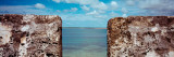 Sea Viewed From the Wall of a Fort, Sao Lourenco Fort, Sao Lourenco Island, Mozambique Photographic Print