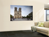 Notre Dame Cathedral, Paris, France Wall Mural by Jon Arnold