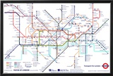 London Underground Map Prints