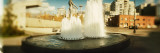 Fountain in a City, Olympic Sculpture Park, Seattle Art Museum, Seattle, King County, Washington Photographic Print