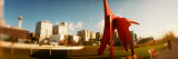 Sculpture in a Park, Olympic Sculpture Park, Seattle Art Museum, Seattle, King County, Washington Photographic Print