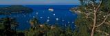 Boats in the Sea, Villefranche-Sur-Mer, Alpes-Maritimes, Provence-Alpes-Cote D'Azur, France Photographic Print
