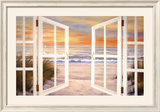 Sunset Beach Posters by Diane Romanello