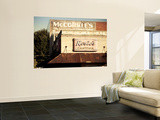 USA, Alabama, Muscle Shoals Area, Florence, Vintage Sign for Rosie's Cantina Restaurant Wall Mural by Walter Bibikow