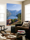 Otternes Mountain Village, Nr Flam, Aurlandsfjord, Norway Wall Mural by Peter Adams