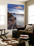 Corbiere Lighthouse at Sunset, Jersey, Channel Islands, UK Wall Mural by Gavin Hellier