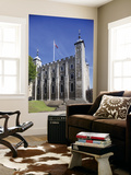England, London, Tower of London, the White Tower Wall Mural by Steve Vidler