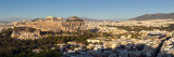 Town on a Hill, Philopappou Hill, Athens, Greece Photographic Print