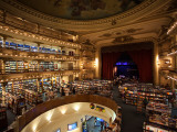 Interiors of a Bookstore, El Ateneo, Avenida Santa Fe, Buenos Aires, Argentina Photographic Print