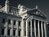 Facade of a Government Building, Palacio Legislativo, Montevideo, Uruguay Photographic Print
