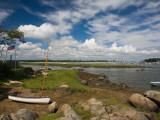 Rocks on the Coast, Annisquam Harbor Light, Gloucester, Cape Ann, Massachusetts, USA Photographic Print