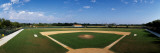 High School Baseball Diamond Field, Lincolnshire, Lake County, Illinois, USA Photographic Print