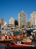 Boats at a Harbor, Punta Del Este, Maldonado, Uruguay Photographic Print