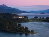 Hotel at the Lakeside, Llao Llao Hotel, Lake Nahuel Huapi, San Carlos De Bariloche Photographic Print