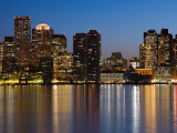 Buildings at the Waterfront, Boston, Massachusetts, USA Photographic Print