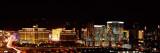 City Lit Up at Night, Las Vegas, Nevada, USA 2010 Photographic Print