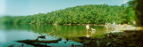 Lake in a Forest, Hudson Valley, New Jersey, USA Photographic Print