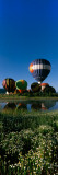 Reflection of Hot Air Balloons in a Lake, Hot Air Balloon Rodeo, Steamboat Springs, Routt County Photographic Print