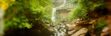 Waterfall in a Forest, Kaaterskill Falls, Catskill Mountains, Hunter, Greene County, New York Photographic Print