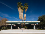 Facade of a Government Building, Palm Springs City Hall, Palm Springs, California Photographic Print