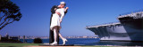 The Kiss Between a Sailor And a Nurse Sculpture, Unconditional Surrender Photographic Print