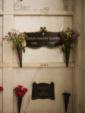Memorial Plaque of Rudolf Valentino in Hollywood Forever Cemetery, Santa Monica Boulevard Photographic Print