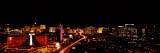 City Lit Up at Night, Las Vegas, Nevada, USA 2010 Photographic Print