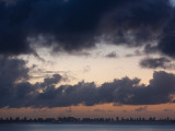 Clouds Over a City, Rio De La Plata, Punta Del Este, Maldonado, Uruguay Photographic Print