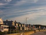 Beach Houses, Long Beach, Rockport, Cape Ann, Massachusetts, USA Photographic Print