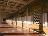 Interiors of the Corridor of an Art Museum, Getty Villa Museum, Pacific Palisades, Los Angeles Photographic Print