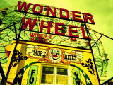 Entrance to the Wonder Wheel, Coney Island, Brooklyn, New York City, New York State, USA Photographic Print