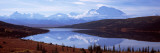 Reflection of a Mountain Range in a Lake, Mt McKinley, Wonder Lake, Denali National Park, Alaska Photographic Print