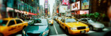 Traffic on a Road, Times Square, Manhattan, New York City, New York State, USA Photographic Print