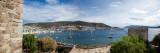 View of a Harbor From a Castle, St Peter's Castle, Bodrum, Mugla Province, Aegean Region, Turkey Fotografisk trykk