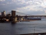 Bridge Across a River, Brooklyn Bridge, East River, Manhattan, New York City, New York State, USA Photographic Print