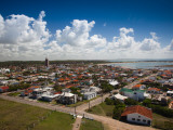 High Angle View of a Town, La Paloma, Rocha Department, Uruguay Photographic Print