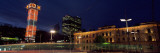 Railway Station at Night, Oslo Central Station, Oslo, Norway Photographic Print