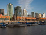 Warehouses at the Port, Puerto Madero, Buenos Aires, Argentina Photographic Print