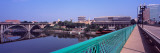 Henley Street Bridge Viewed From the Gay Street Bridge, Tennessee River, Knoxville Photographic Print