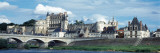 Castle at the Riverbank, Chateau D'Amboise, Loire River, Amboise, Indre-Et-Loire Photographic Print