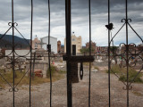 Entrance of a Cemetery, Cachi, Salta Province, Argentina Photographic Print