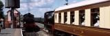 Trains at Railroad Station, Northiam Railway Station, Northiam, East Sussex, England Photographic Print