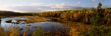 Lake in Autumn, Wood Lake, Superior National Forest, Yellow Medicine County, Minnesota, USA Photographic Print